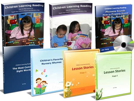 Children Learning Reading Standard Package